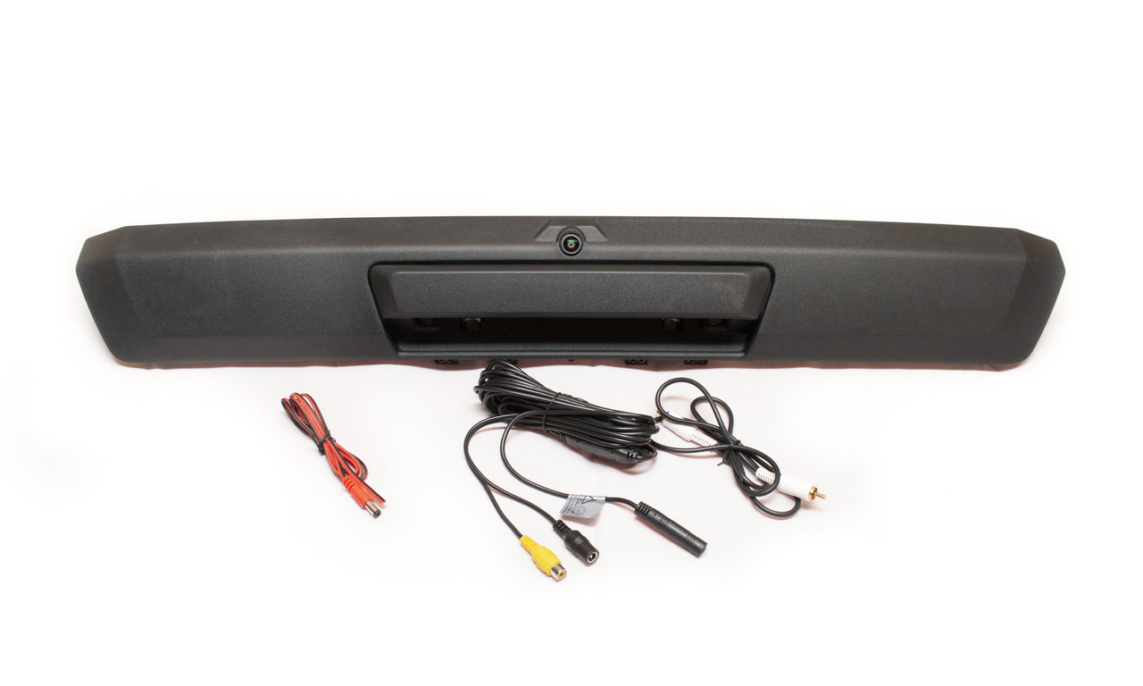 ford oem style tailgate backup camera 17 19 super duty pickups 4d tech inc [ 1280 x 768 Pixel ]