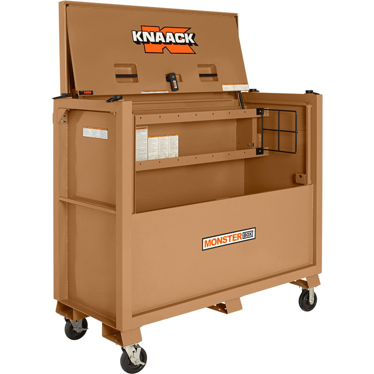 hight resolution of knaack model 1000 monster piano box industrial ladder supply co inc