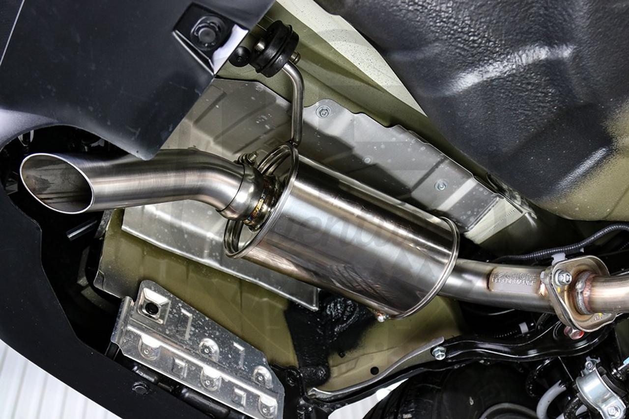 lachute performance axle back exhaust 2010 2020 subaru outback 2 5i