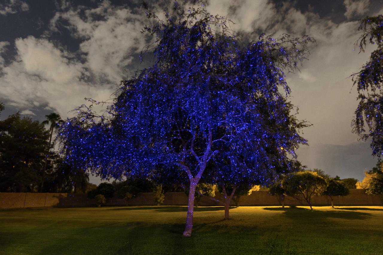 illuminator laser lights by sparkle magic indigo twilight blue 4 0 series