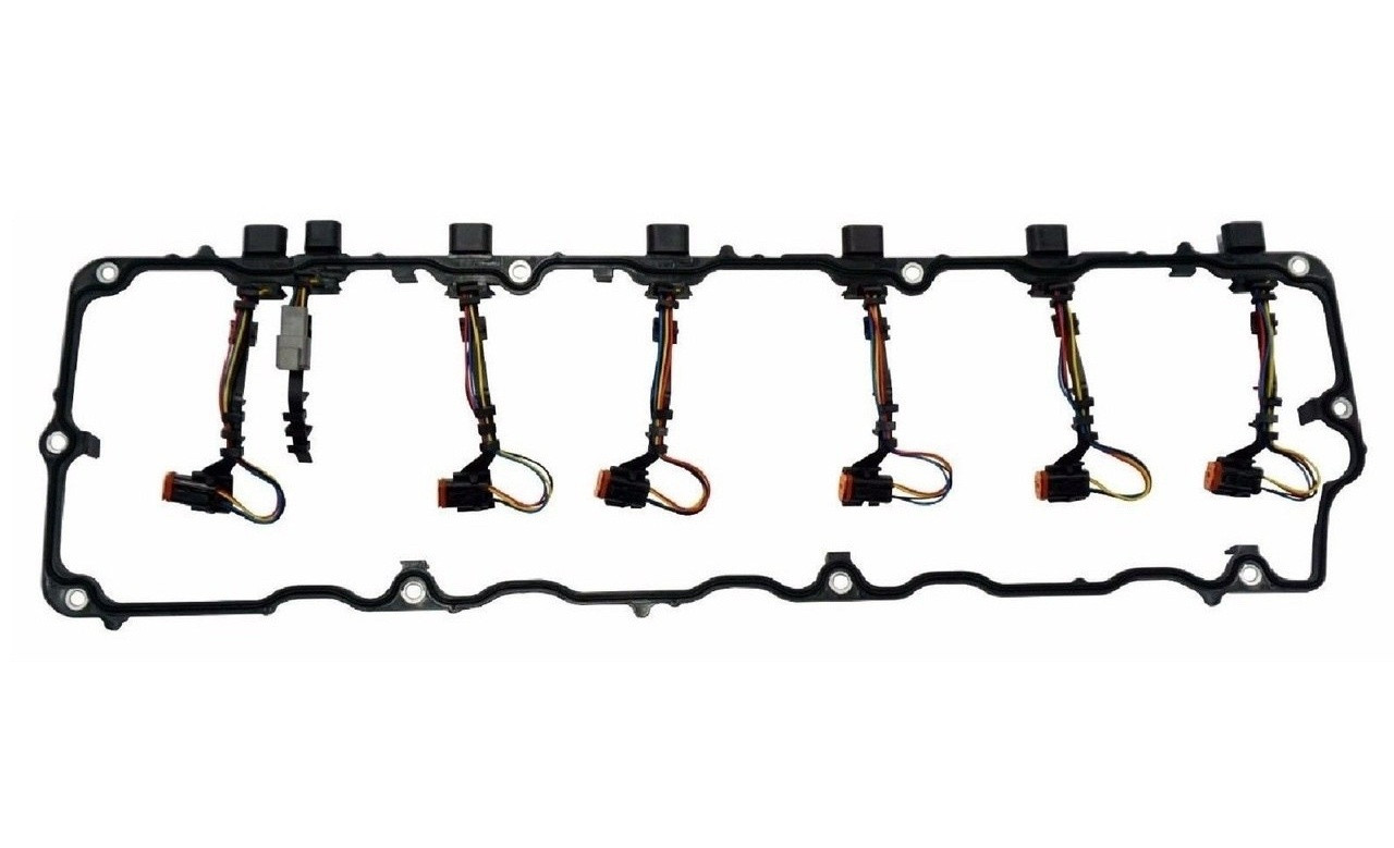 hight resolution of international truck 04 07 dt466e 570 valve cover gasket harness 1842380c95