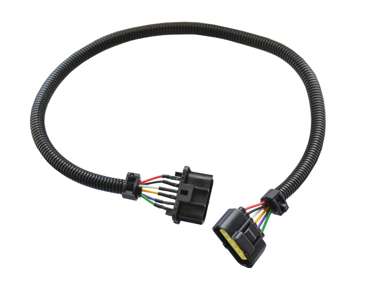medium resolution of mass air flow maf 24 extension harness sensor connector 6 wire pin fits ford