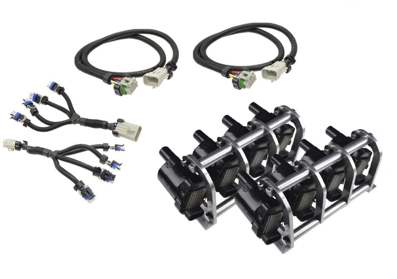 d585 heat sink truck coil relocation bracket kit with harnesses lsx ls lq4 lq9 remote [ 1280 x 901 Pixel ]