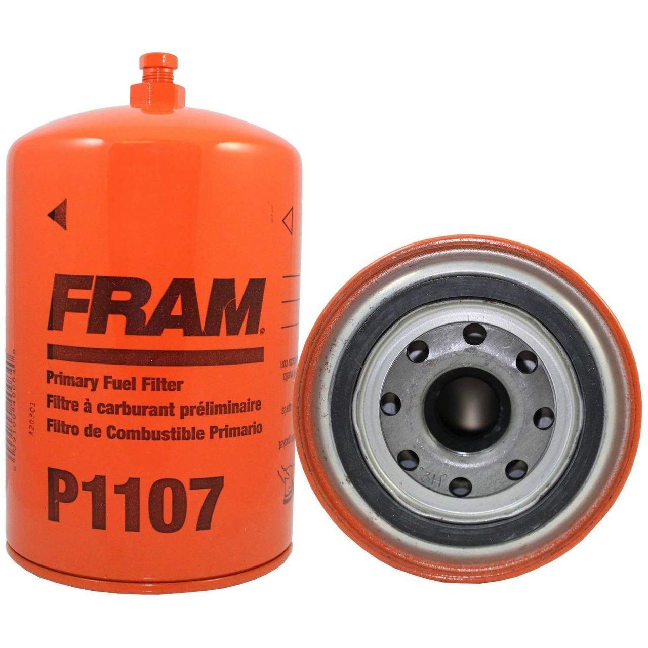 medium resolution of fram p1107 spin on fuel filter w drain petcock