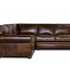 72 Lancaster Leather Sofa Black Bonded Sectional Lassiter Sale American Heritage 2pc Config 9