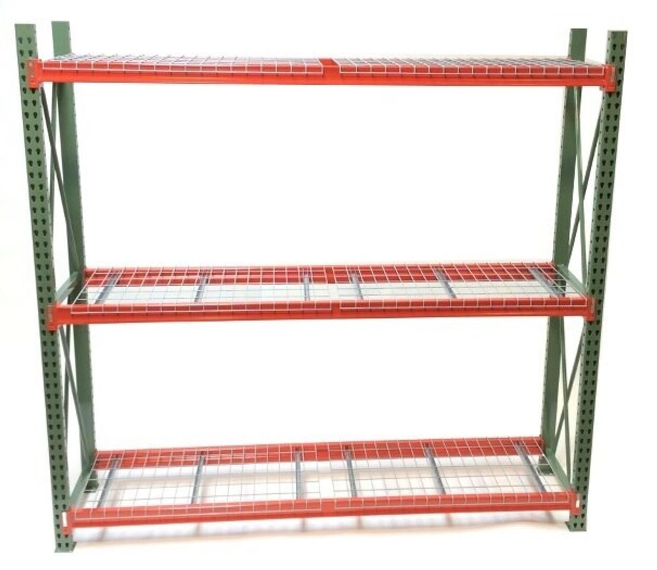 pallet rack starter unit 96 wx24 dx96 h