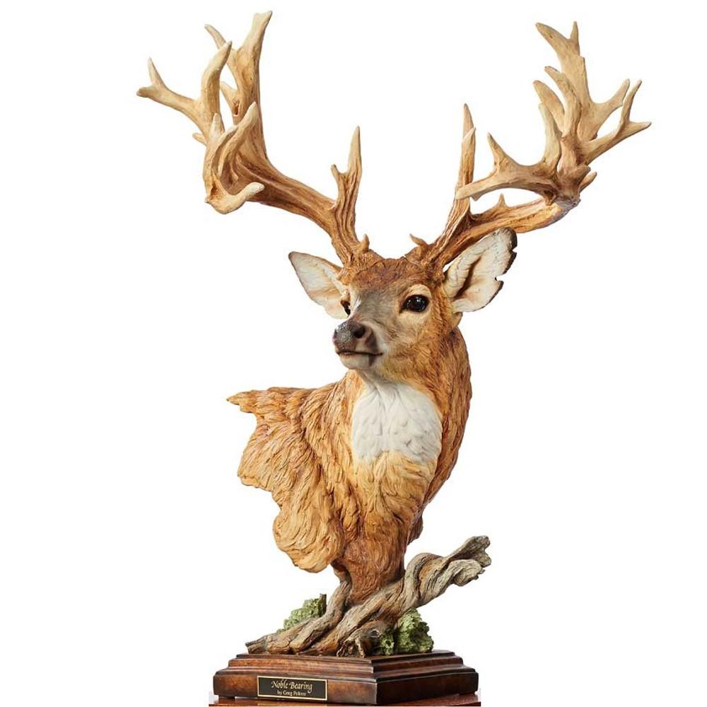 Whitetail Deer Sculpture Noble Bearing Mill Creek Studios