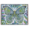 Blue Morpho Butterfly Tapestry Throw Blanket Pure Country
