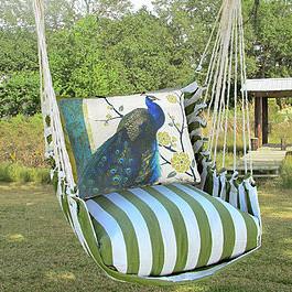 hammock chair swings wedding cover hire falkirk peacock swing summer palm magnolia casual