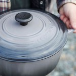 Le Creuset 5 3 L 5 5 Qt Oyster French Round Dutch Oven Ls2501 267f