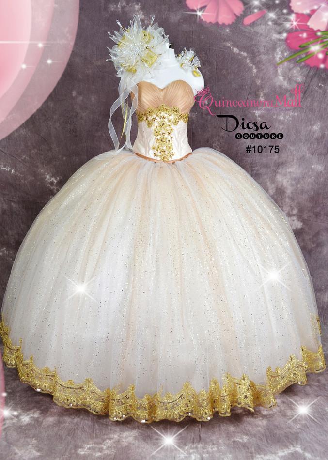 Extra Poofy Quinceanera Princess Style Dress #10175JES - Joyful Events Store