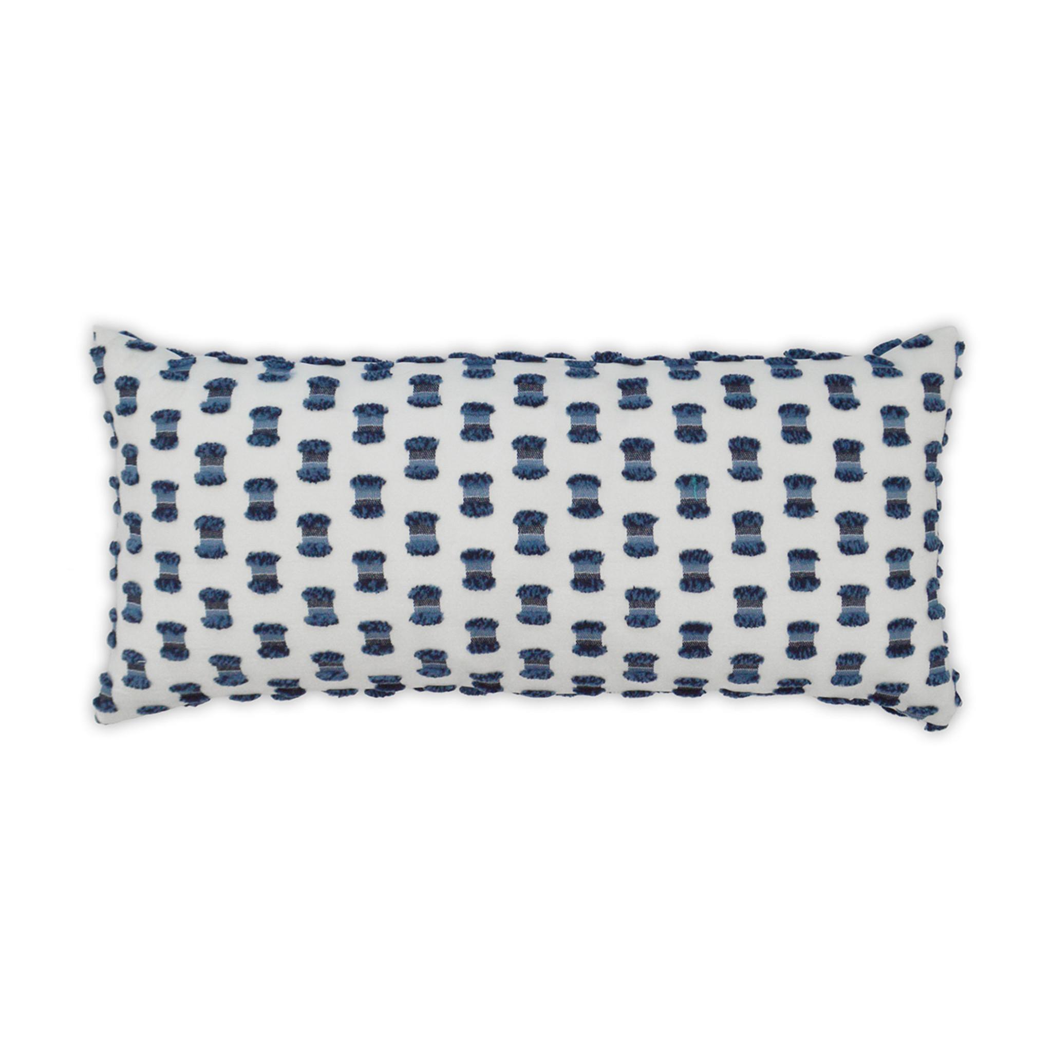 fifi indigo blue 12 x 24 indoor outdoor pillow