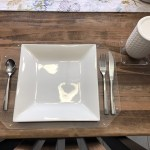 Distinctandunique Clear Acrylic Place Mats And Coasters 3 Mm Non Slip Waterproof Lucite Plexiglass Protector Placemats