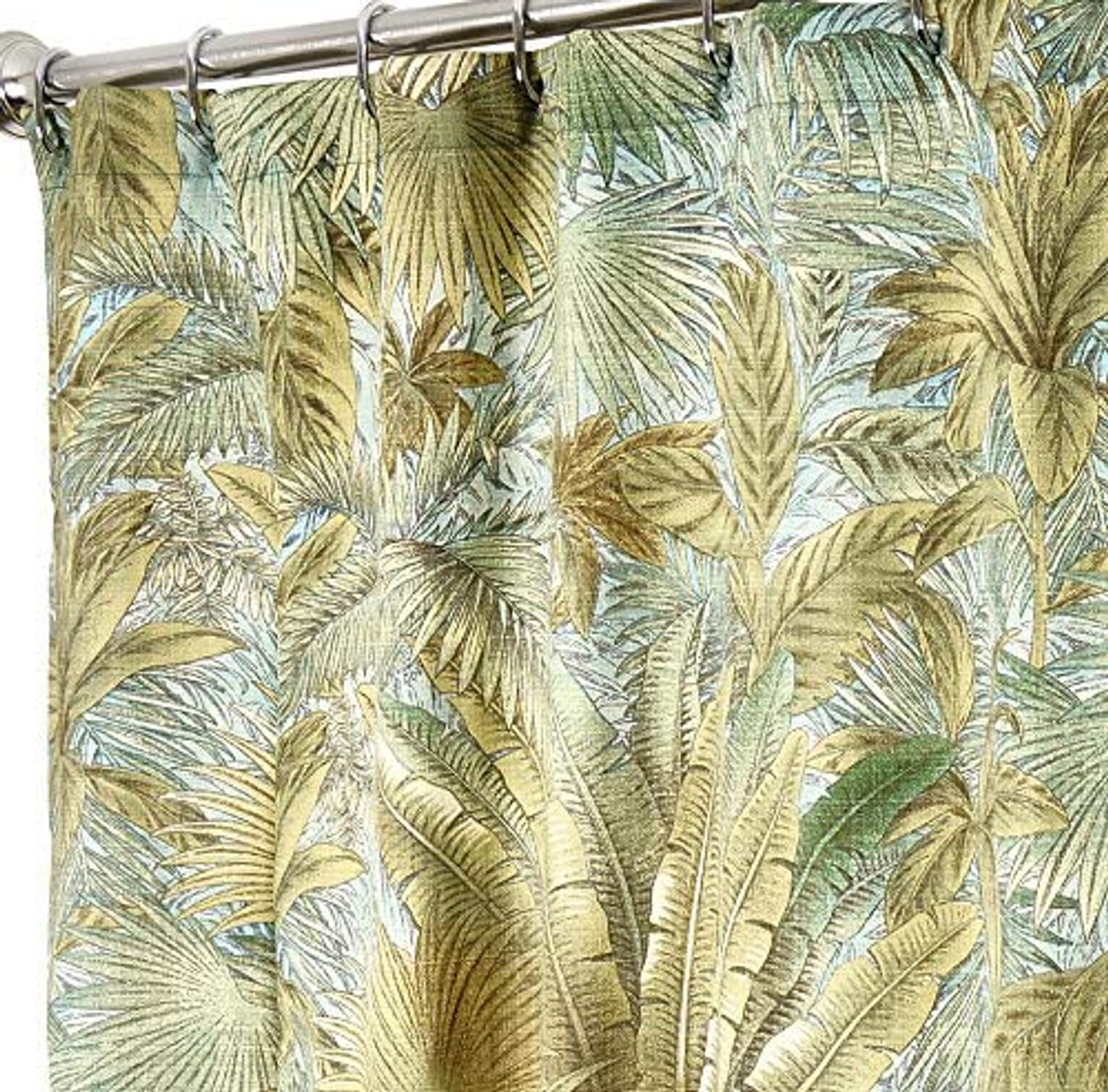 tommy bahama tropical fabric extra long shower curtains