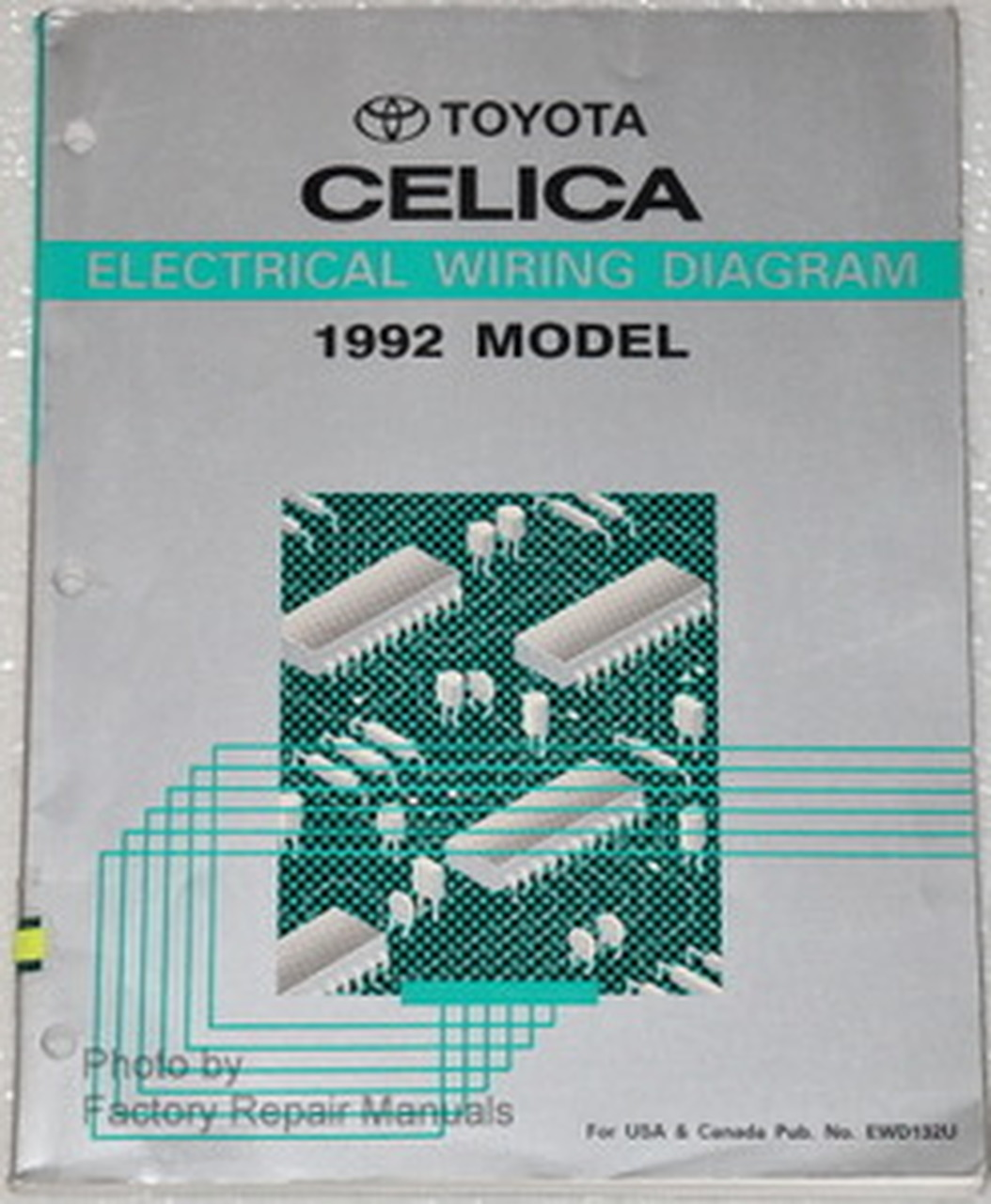 1992 Toyota Celica Manual