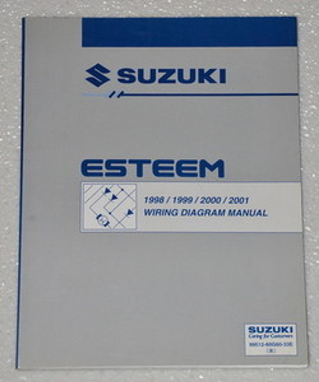 1999 Suzuki Esteem Wiring Diagrams