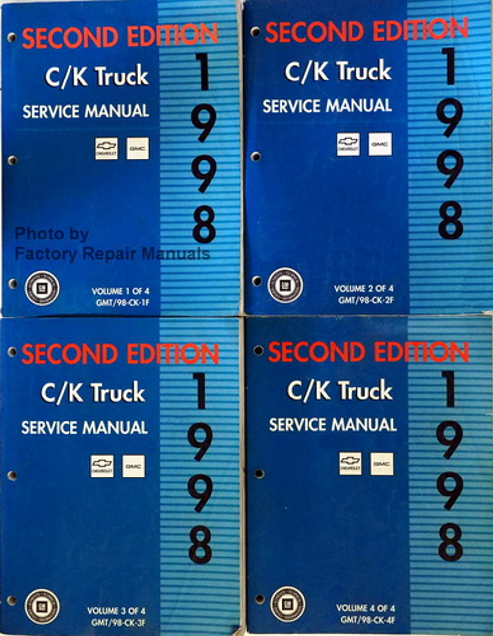 1998 Chevy Truck Repair Manual