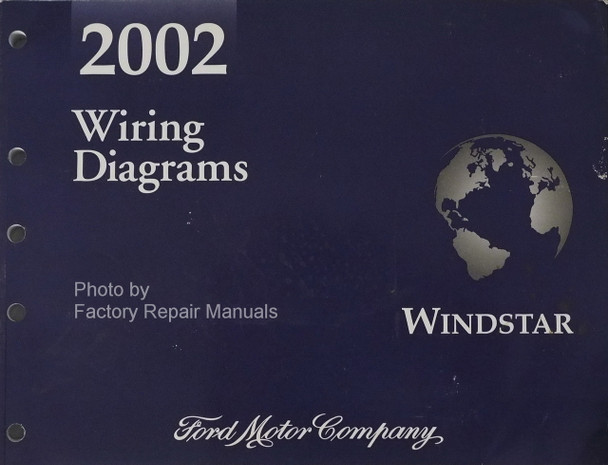 2002 Ford Windstar Wiring Diagram Manual Original Ford Books