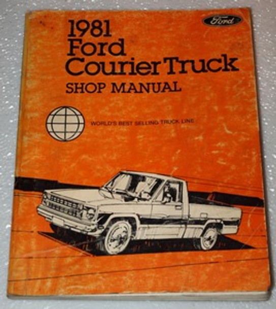 Workshop Manual Ford Courier