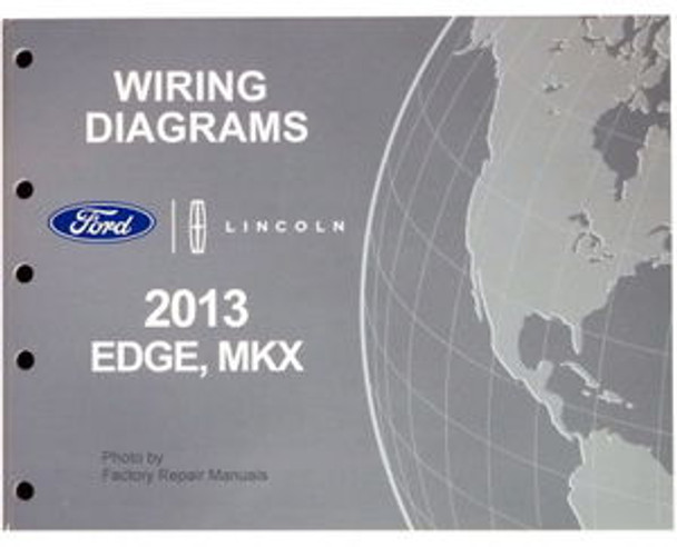 2007 Ford Edge Lincoln Mkx Wiring Diagram Manual Original