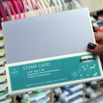 6x7 Stamp Card