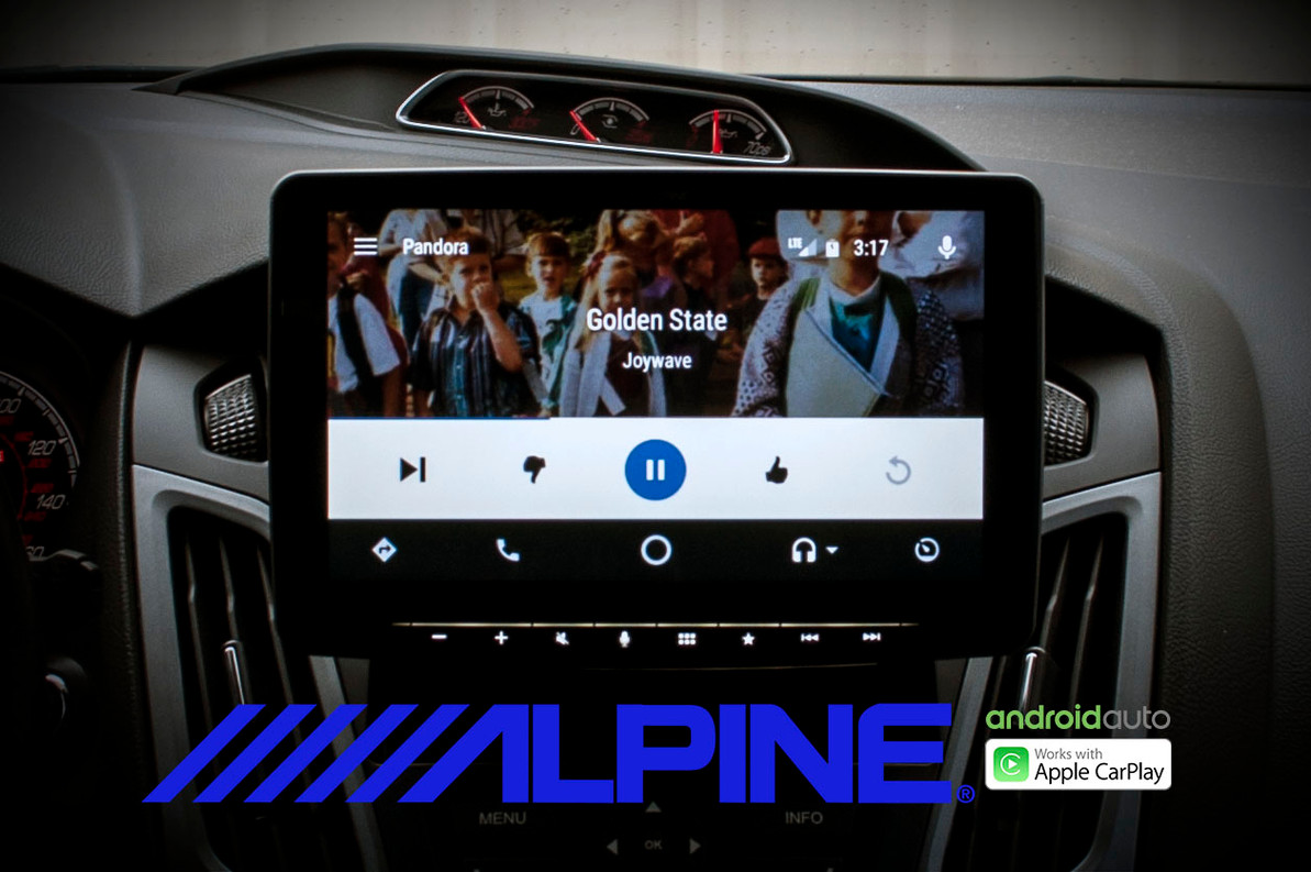 medium resolution of alpine ilx f309 halo9 installed and reviewed