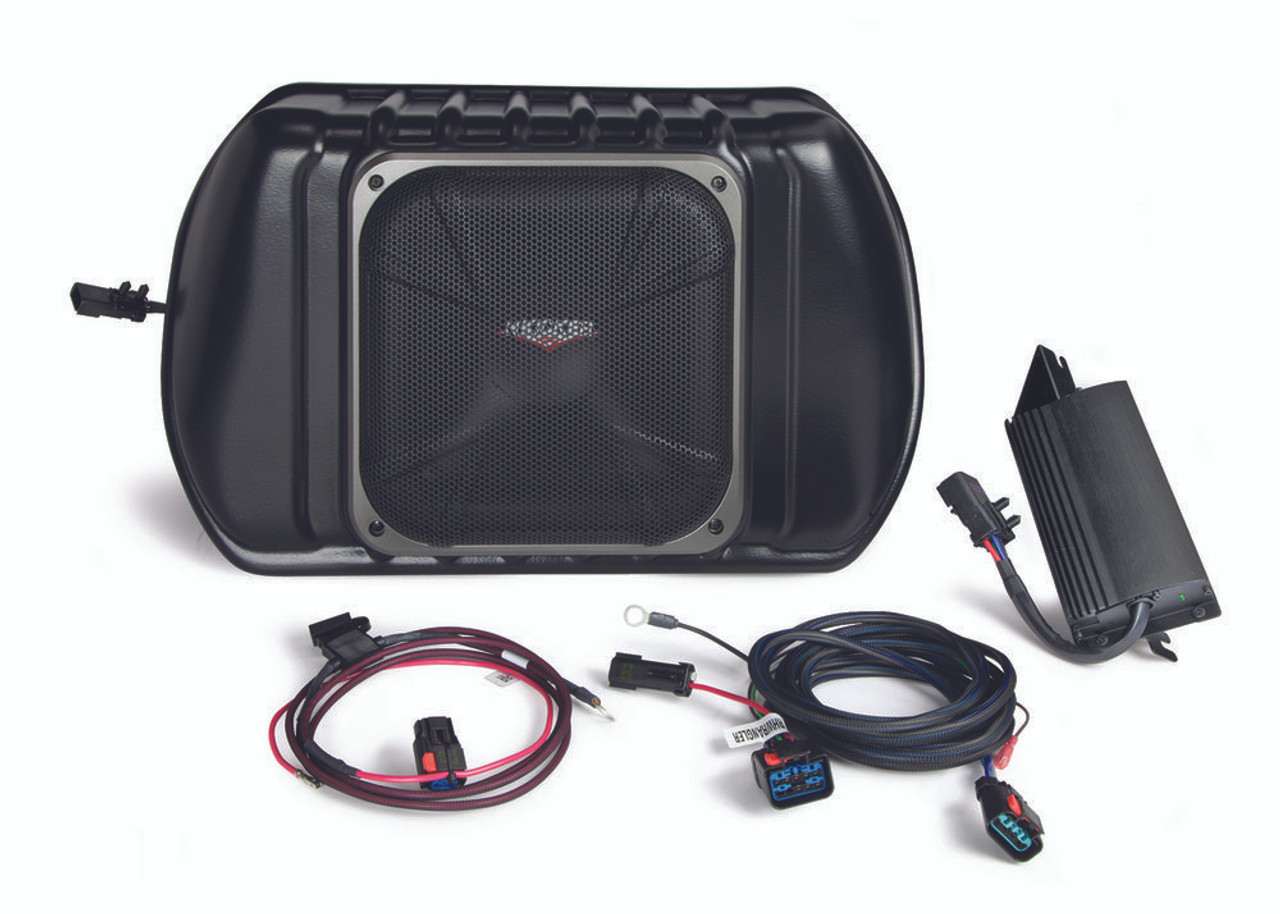 kicker powerstage multi channel amplifier and powered subwoofer upgrade system for 2011 and newer jeep  [ 1280 x 662 Pixel ]
