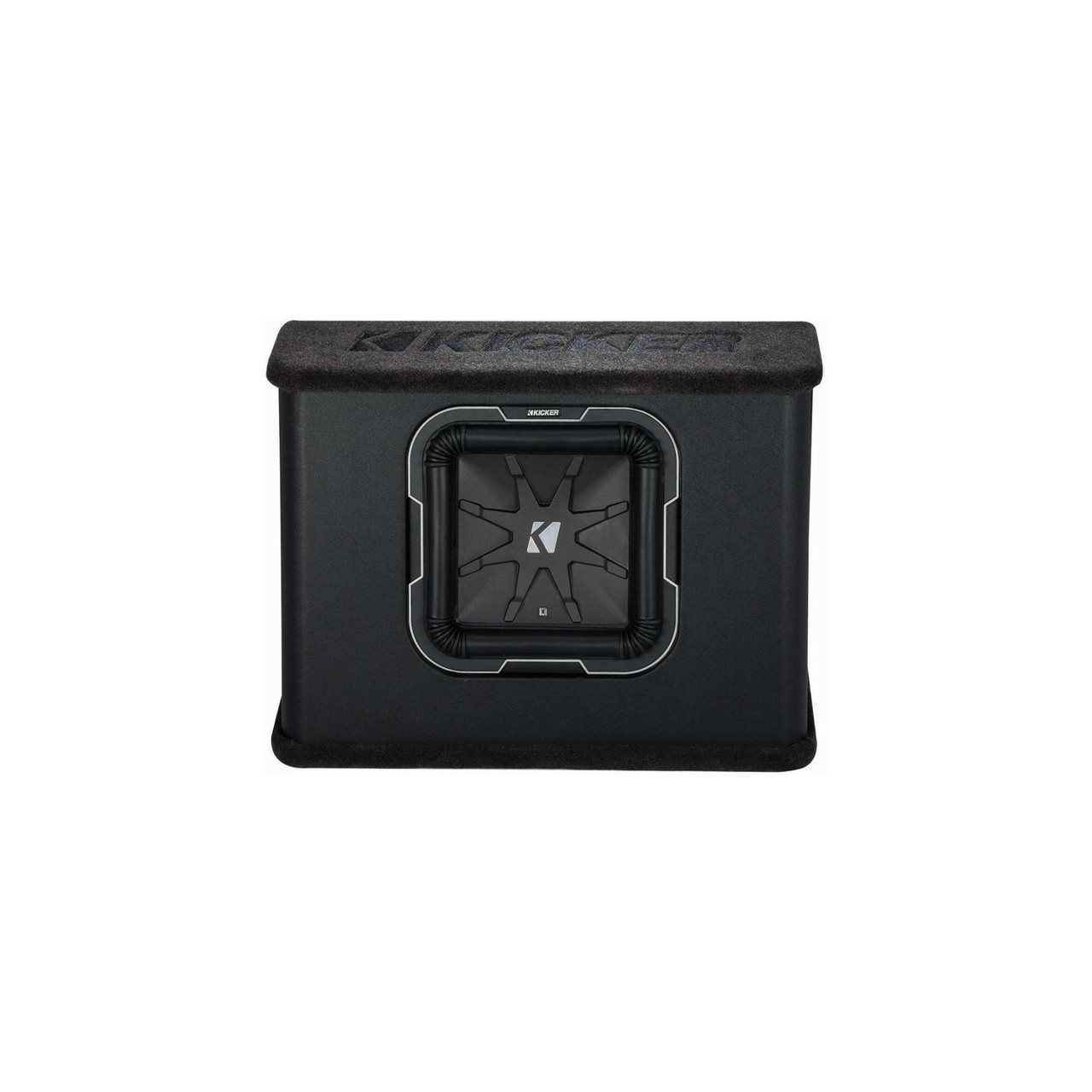 medium resolution of  kicker q class tl710 kicker l7 10 inch subwoofer in thin profile vented