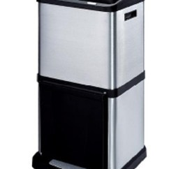 Kitchen Recycling Bins Cabinets For Mobile Homes Trio Bin 40 Litre Tower Recycler Laundry Company