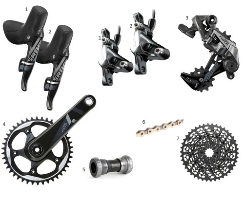 SRAM Force HRD 1x Gravel or Road Groupset - Glory Cycles
