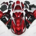 Kawasaki Ninja Zx 14 Zzr1400 Red And Black Fairings Xcelmoto