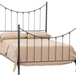 Rose Bud Iron Queen Bed