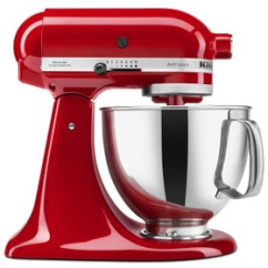 Kitchen Aid Products Herringbone Backsplash Kitchenaid The Gourmet Warehouse Artisan 5 Qt Tilt Head Stand Mixer Empire Red
