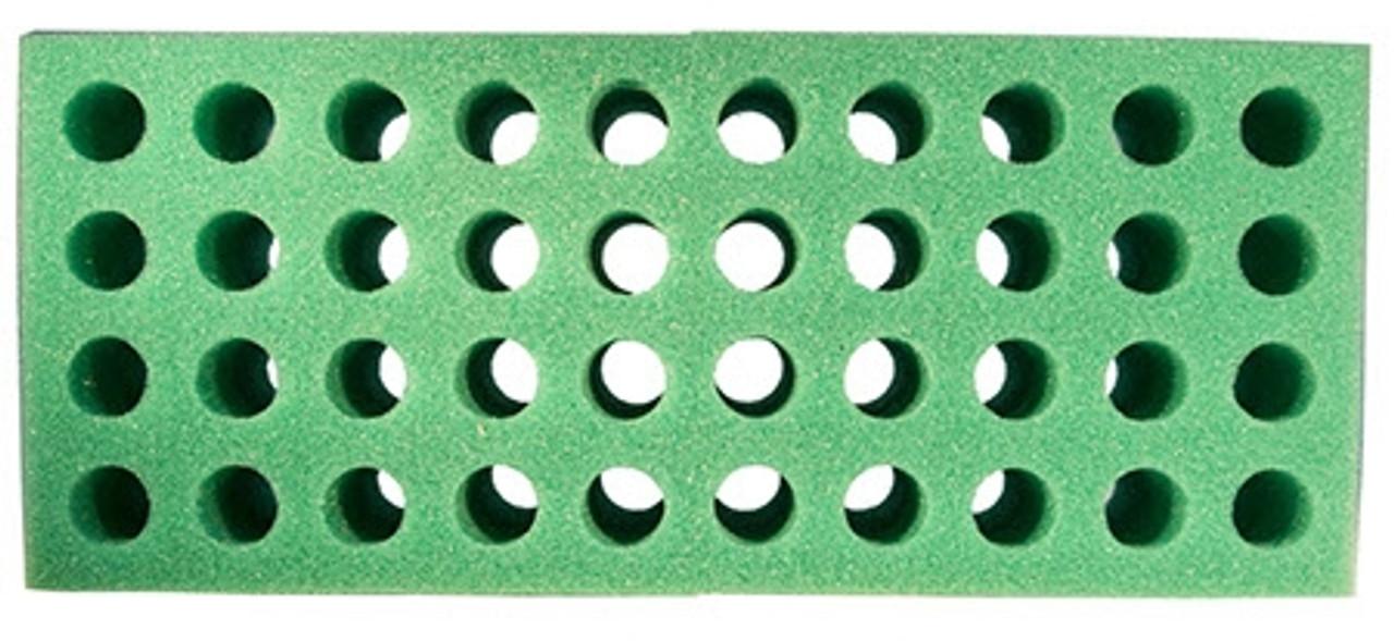 foam test tube shooter rack 40 hole