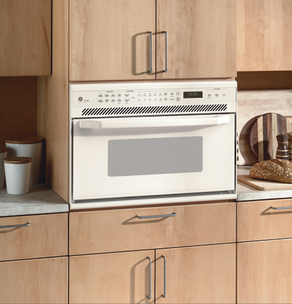 ge profile built in microwave convection oven jeb1095cb