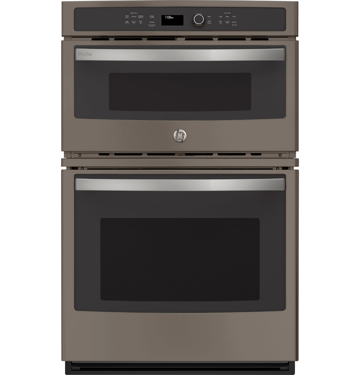 ge profile 27 built in combination convection microwave convection wall oven pk7800ekes