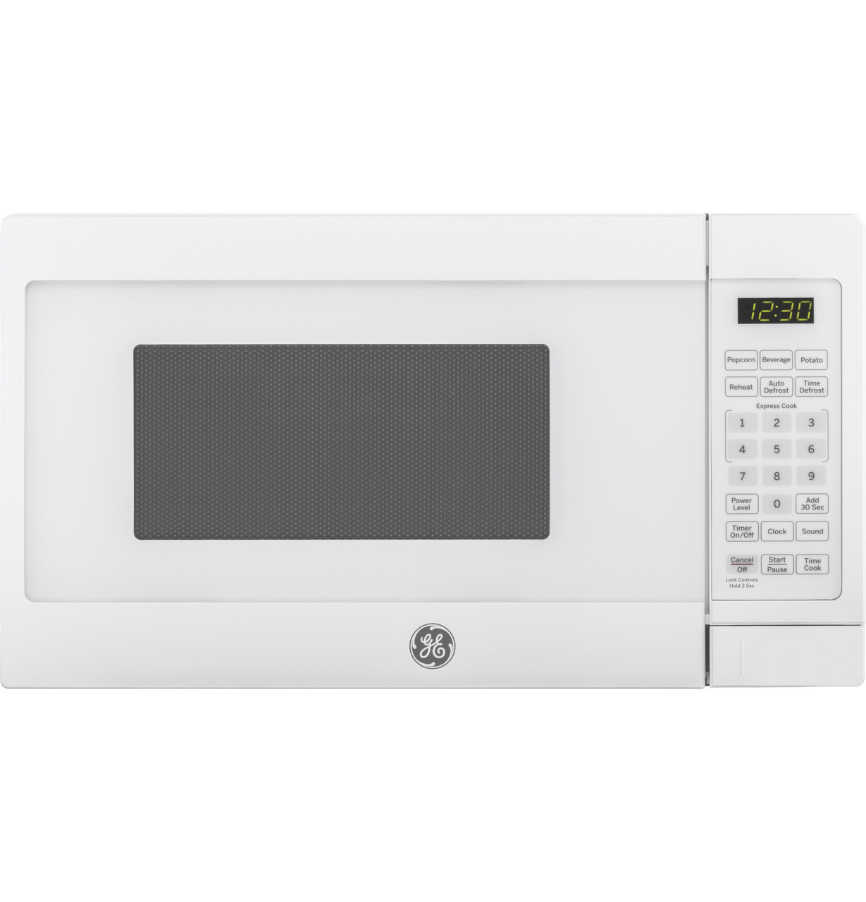 ge 0 7 cu ft capacity countertop microwave oven jes1072dmww