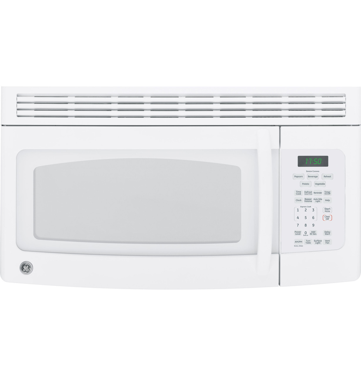 ge spacemaker over the range microwave oven jvm1750dmww