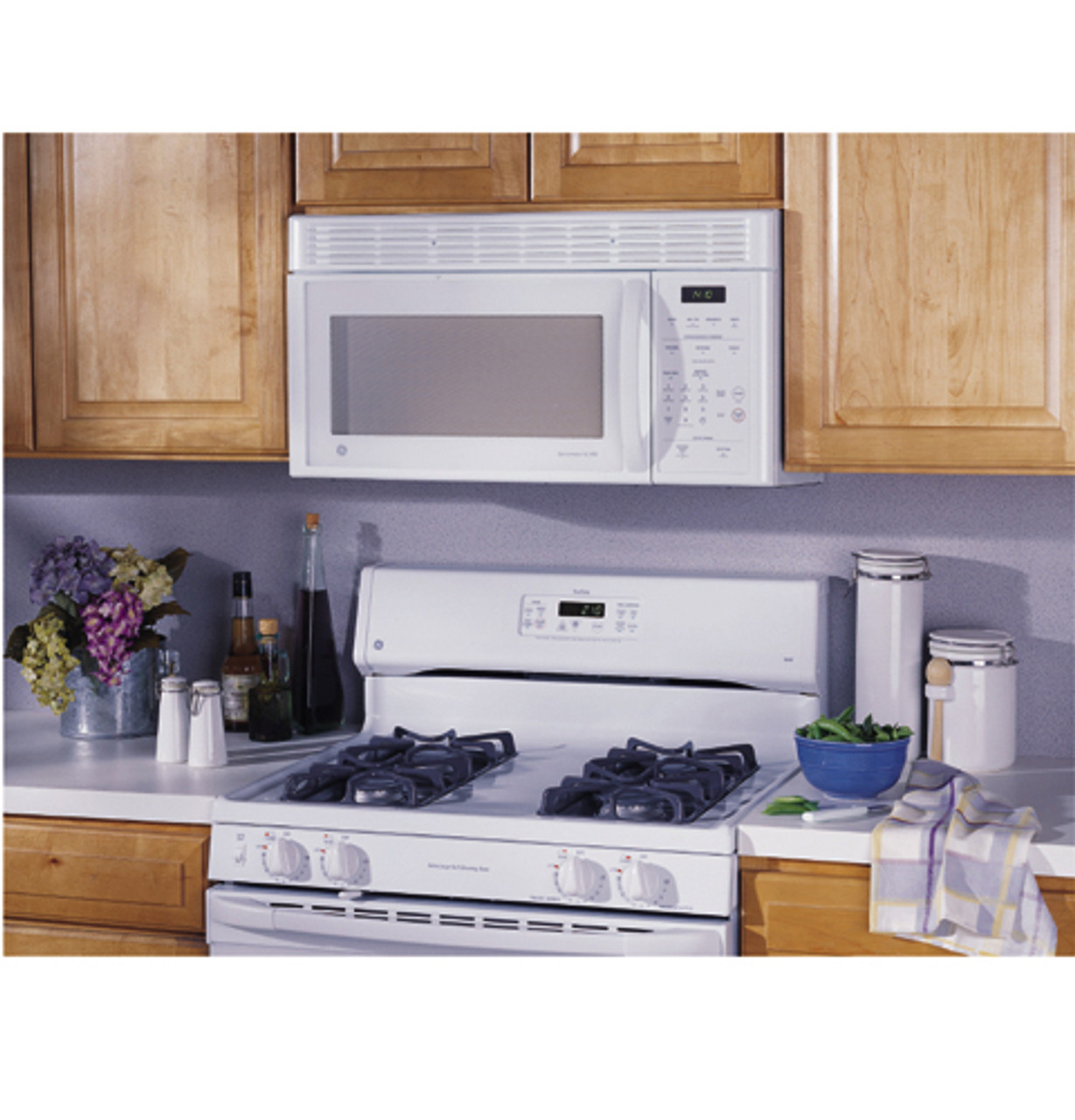 ge spacemaker xl over the range microwave oven jvm1410bc