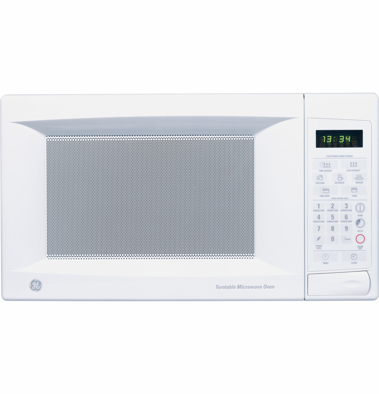 ge 1 3 cu ft countertop microwave oven jes1334wd