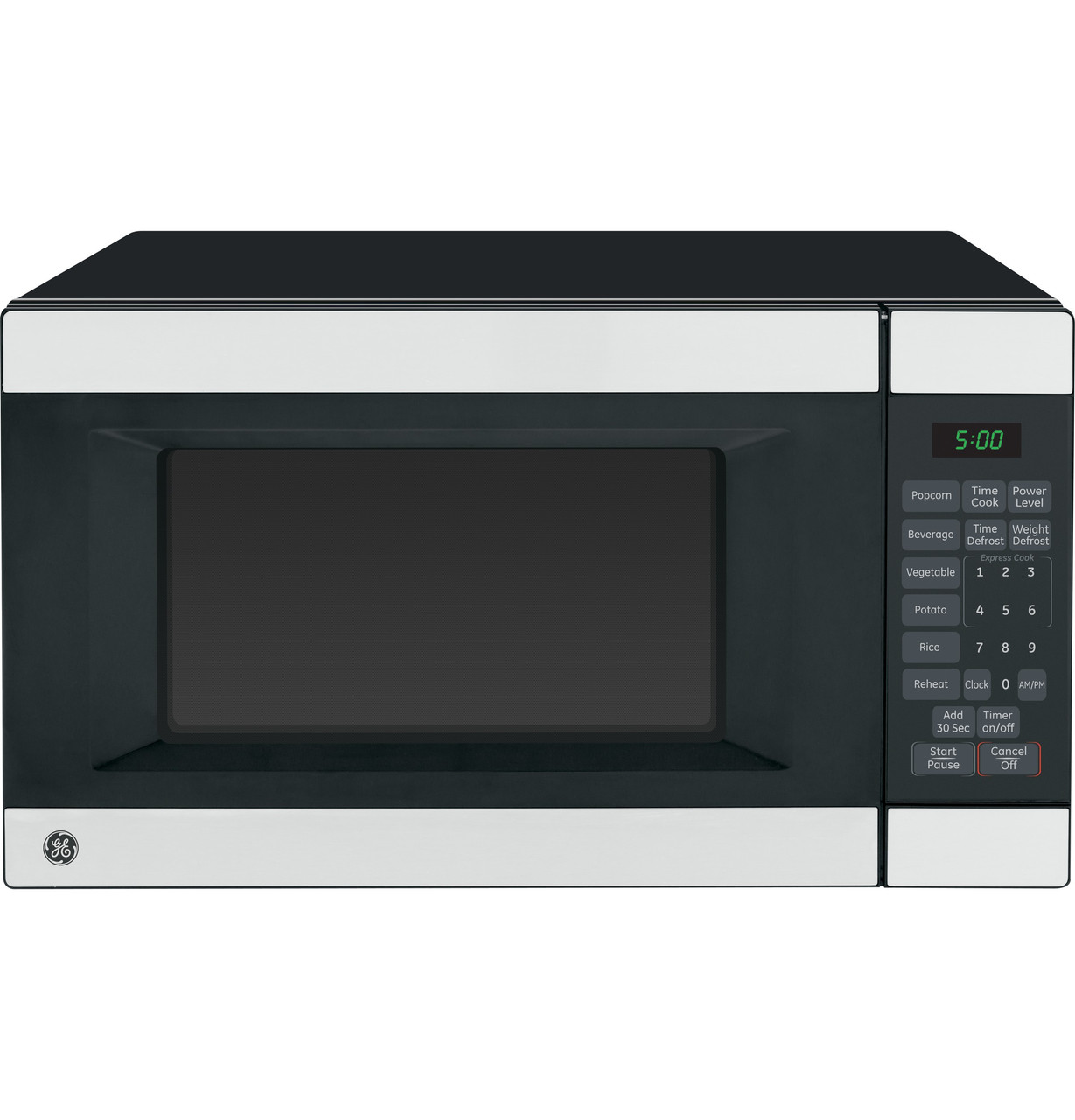 ge 1 4 cu ft countertop microwave oven wes1452ssss