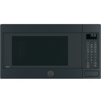 ge cafe series 1 5 cu ft countertop convection microwave oven ceb1599elds