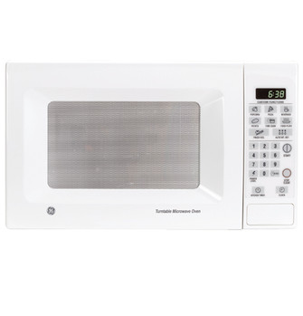 ge countertop turntable microwave oven jes638wf