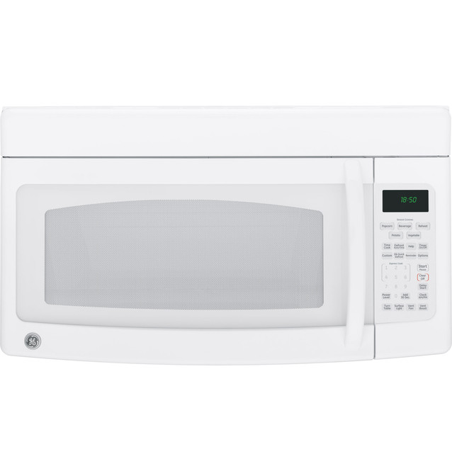 ge spacemaker over the range microwave oven jvm1850dmww