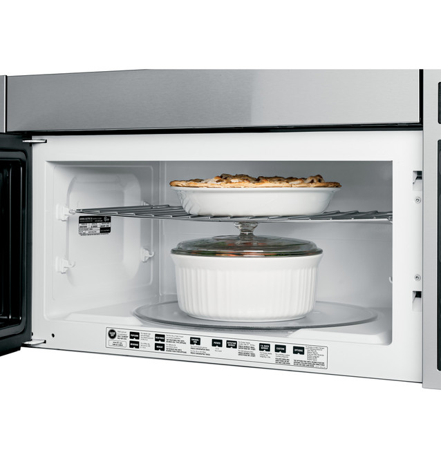 ge profile spacemaker xl 1800 36 microwave oven jvm3670sk