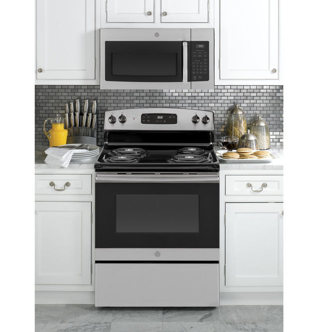 ge 1 6 cu ft over the range microwave oven with recirculating venting jnm3161rfss