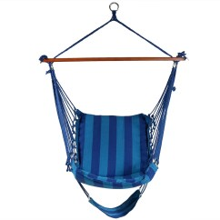 Hanging Hammock Chair Tall Adjustable Office Sunnydaze With Footrest 26 W
