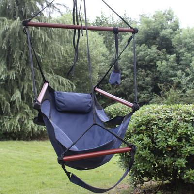 hanging chair big w recliner chairs brisbane sunnydaze hammock pillow amp drink holder outdoor furniture