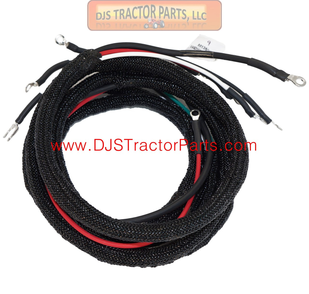 small resolution of main wiring harness allis chalmers wd wd45 acr4766 djs allis chalmers wd wiring harness