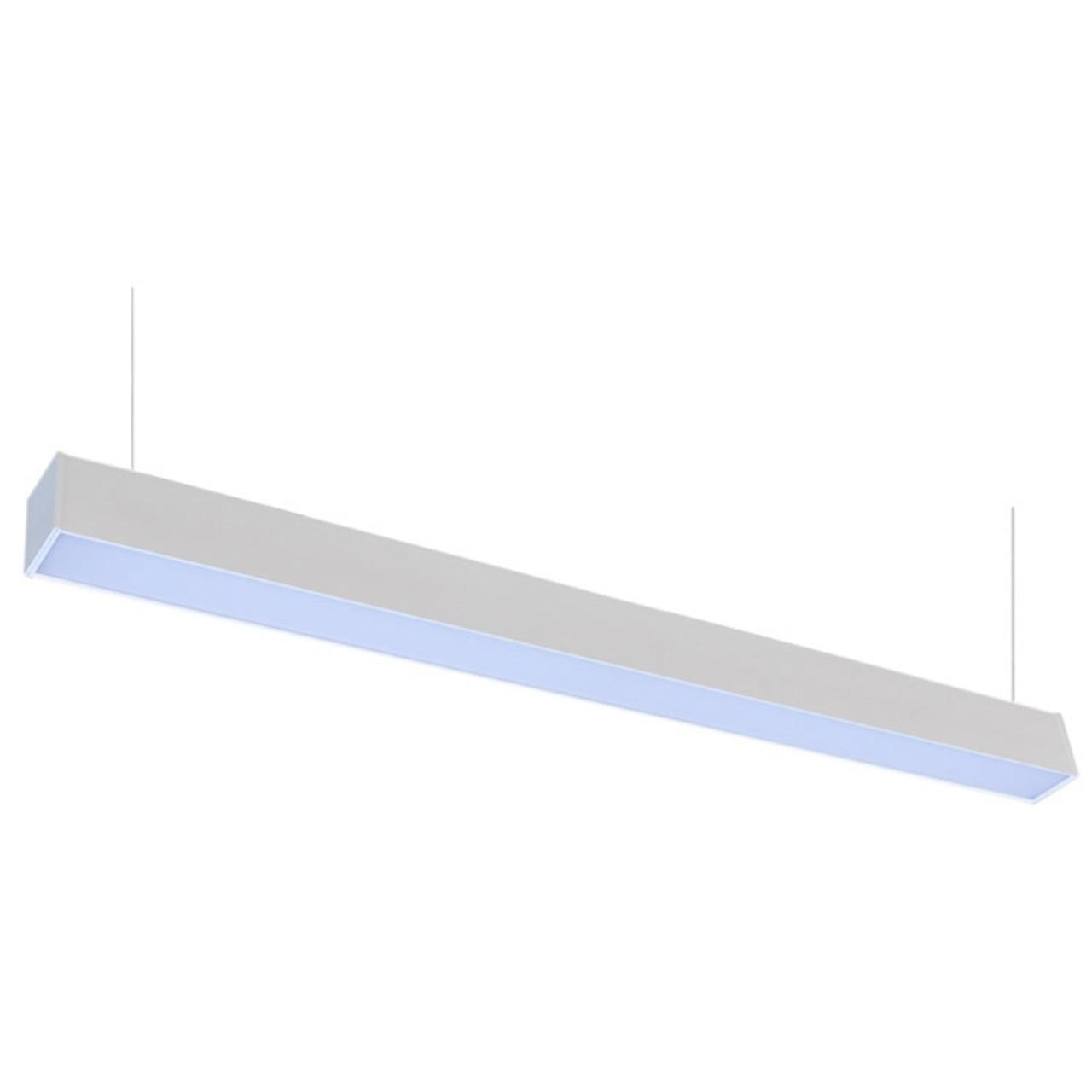 suspended linear led office lighting 4 ft office hanging light linkable